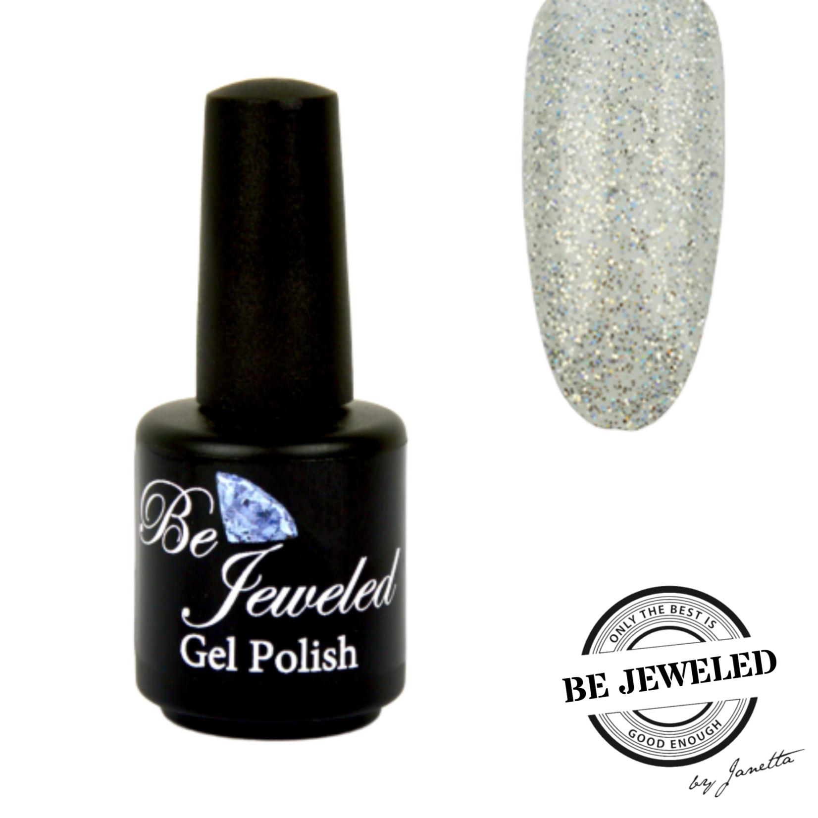 Urban Nails Be Jeweled Gelpolish 101 Zilver Multicolor Glitter