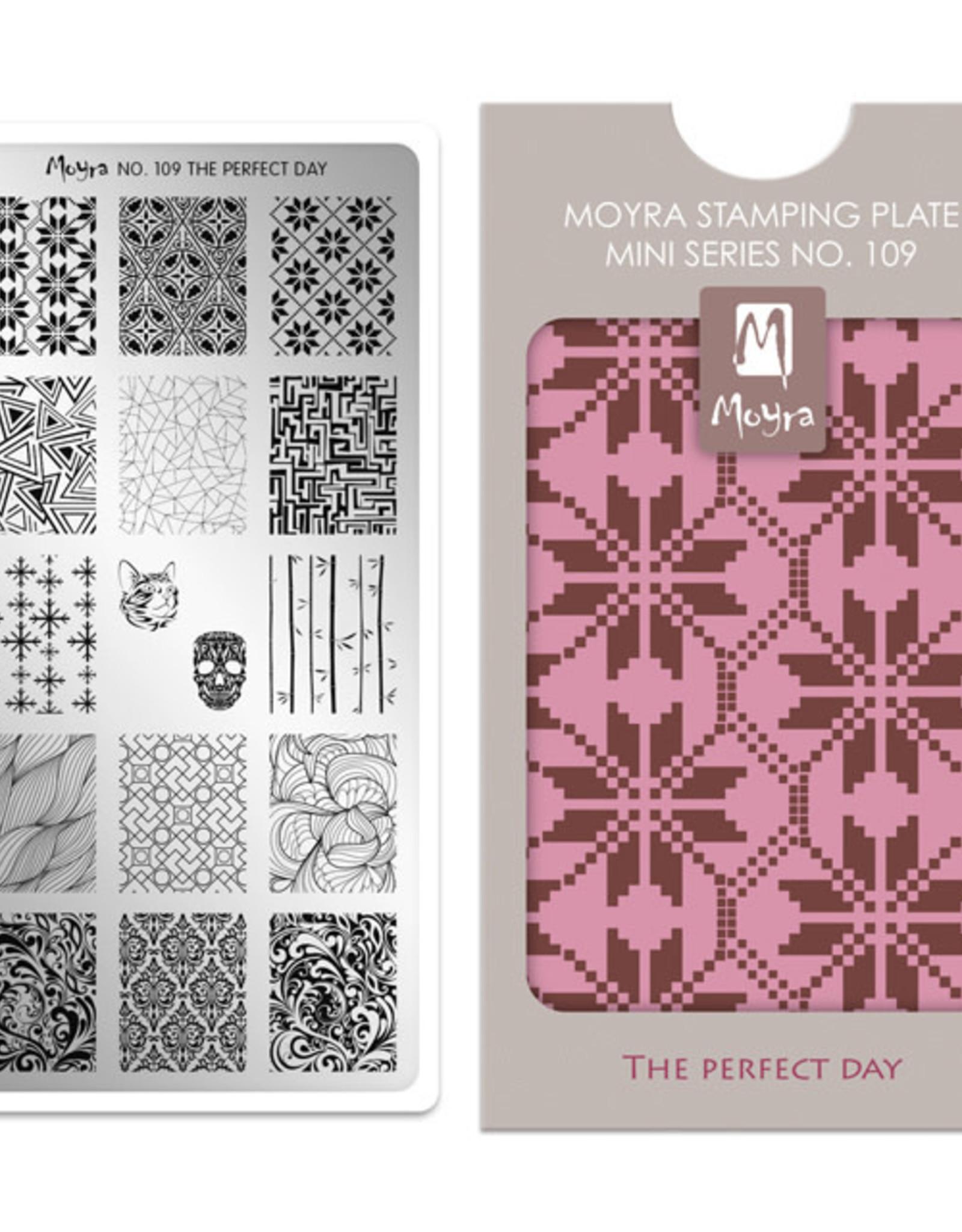 Moyra Moyra Mini Stamping plate 109 The perfect day