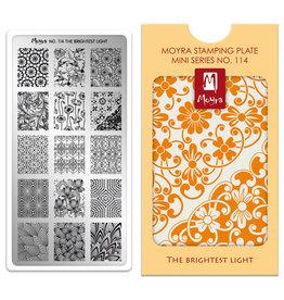 Moyra Moyra Mini Stamping plate 114 The brightest light