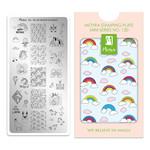 Moyra Moyra Mini Stamping plate 120 We believe in magic