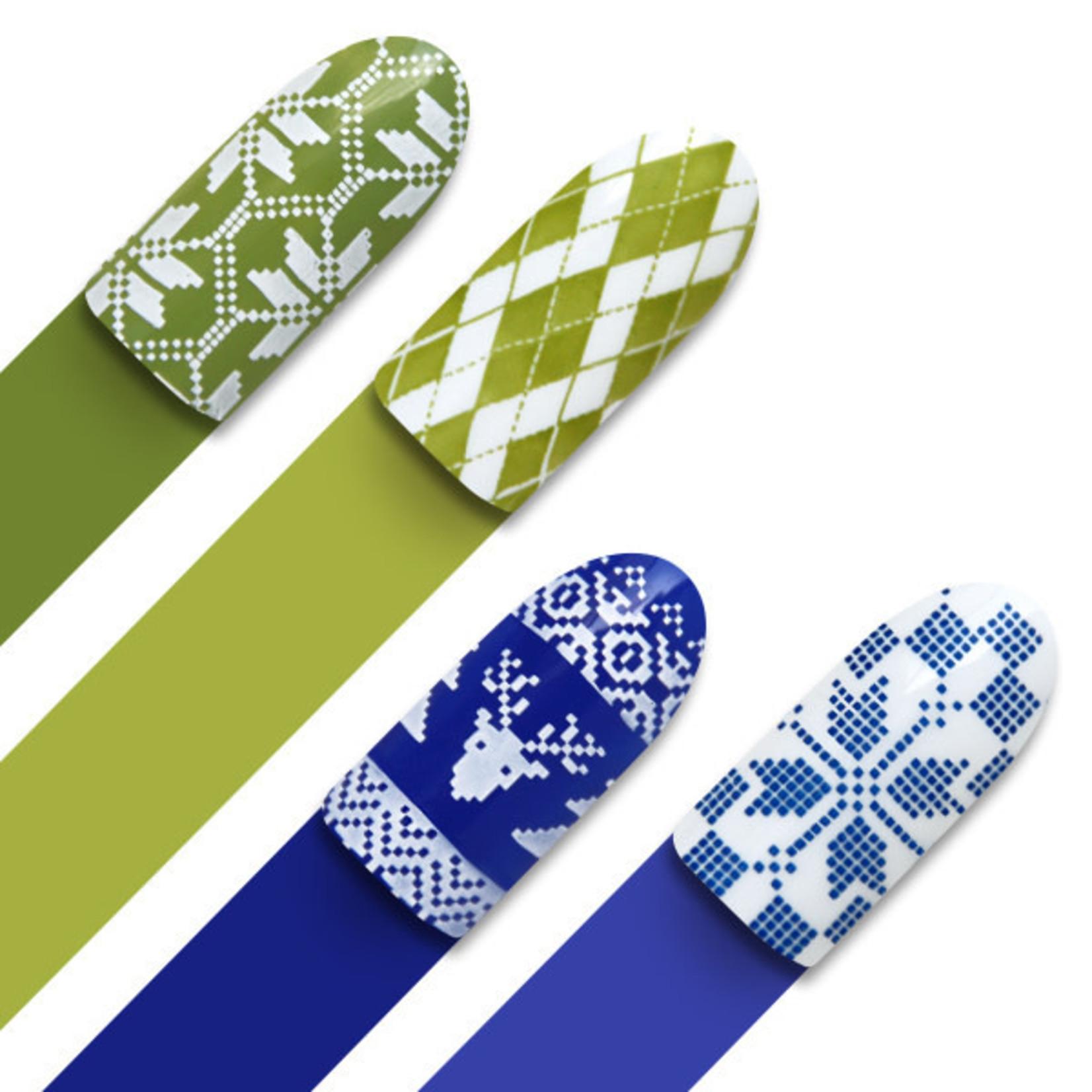Moyra Moyra Stamping plate 02 Fabric texture