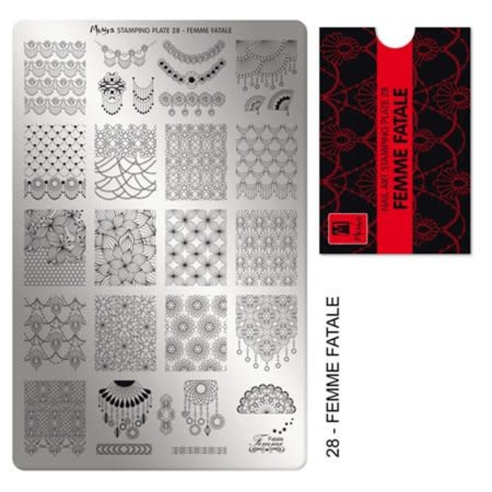 Moyra Moyra Stamping plate 28 Femme Fatale
