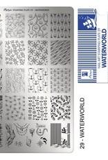 Moyra Moyra Stamping plate 29 Waterworld