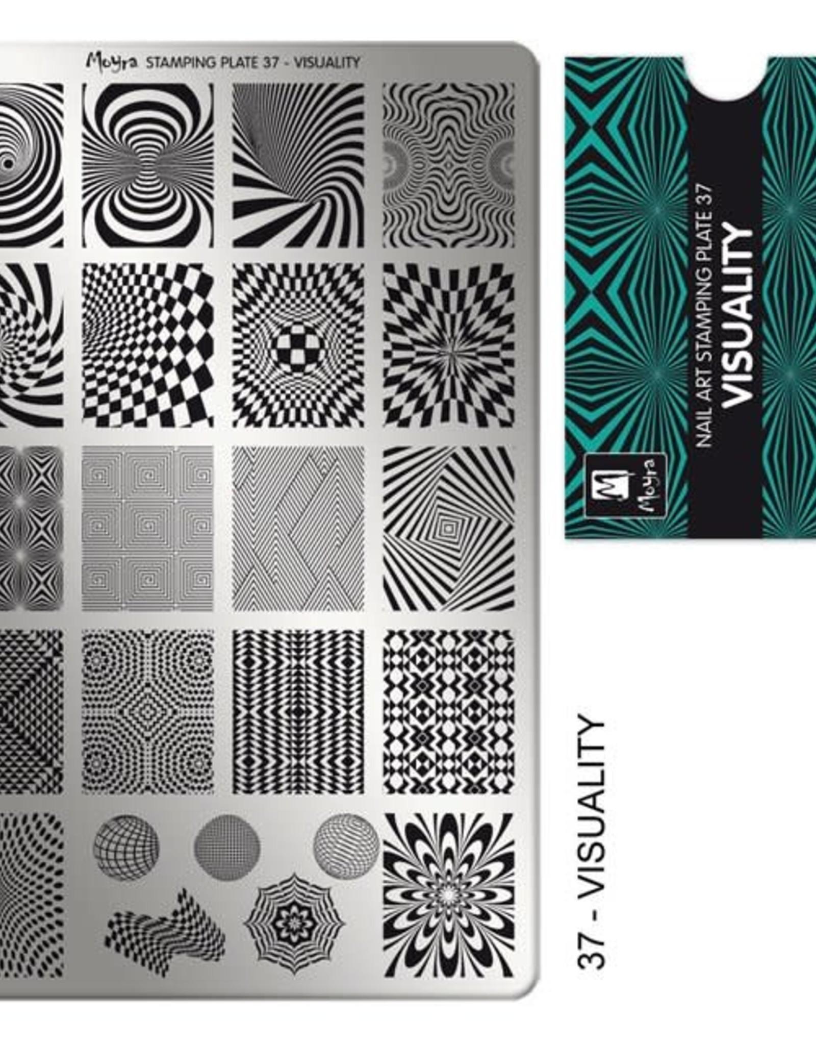 Moyra Moyra Stamping plate 37 Visuality