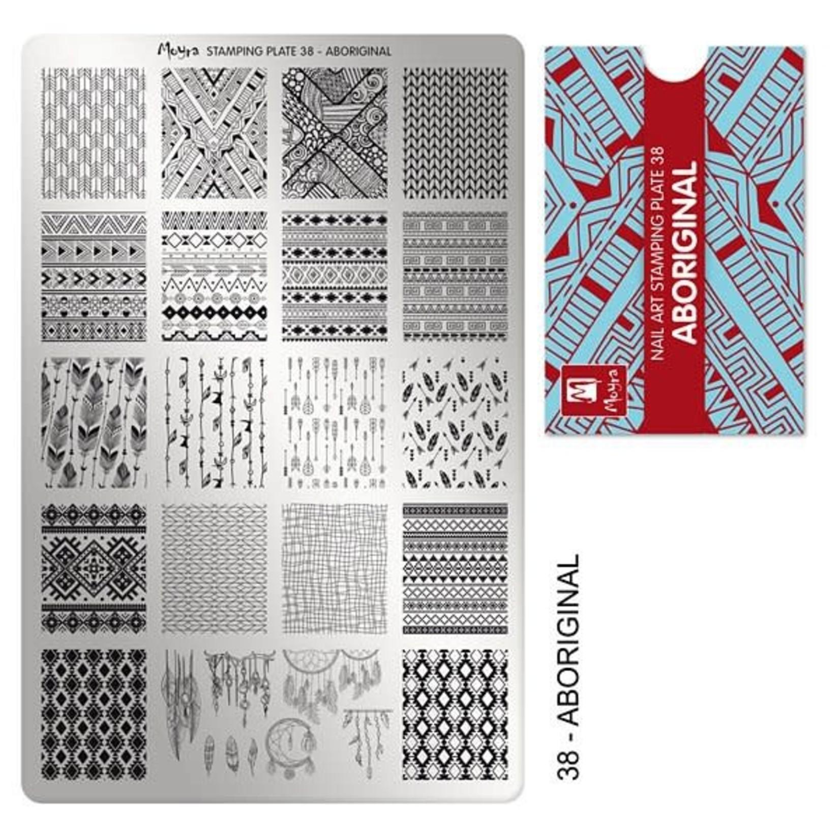 Moyra Moyra Stamping plate 38 Aboriginal