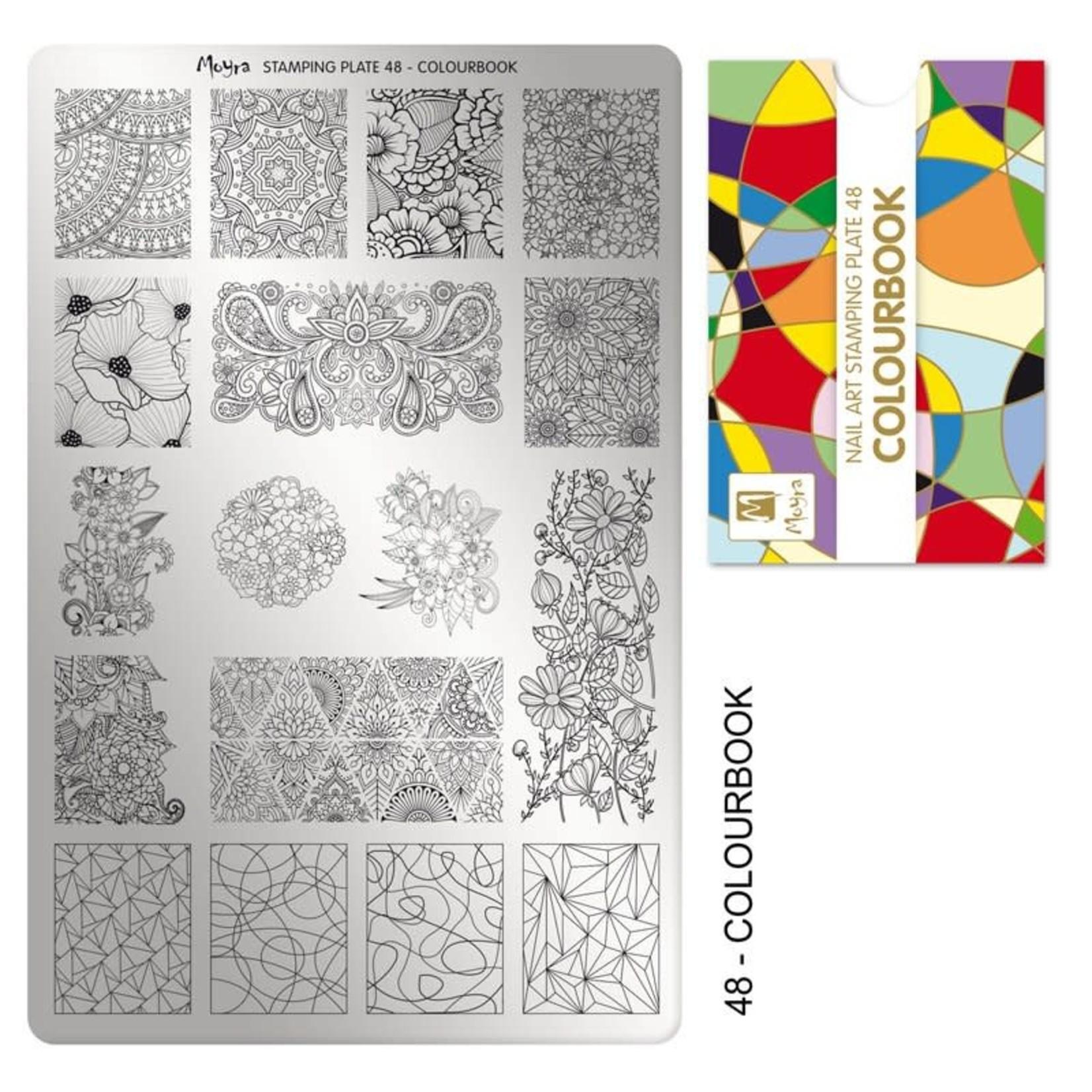 Moyra Moyra Stamping plate 48 Colourbook