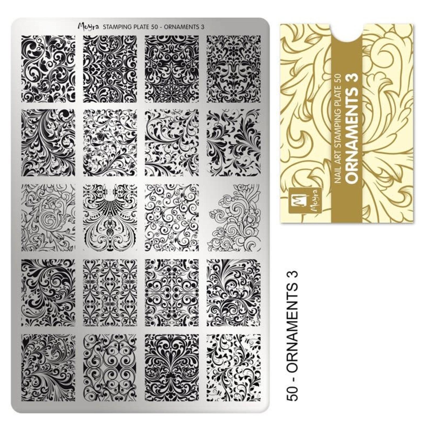 Moyra Moyra Stamping plate 50 Ornaments 3