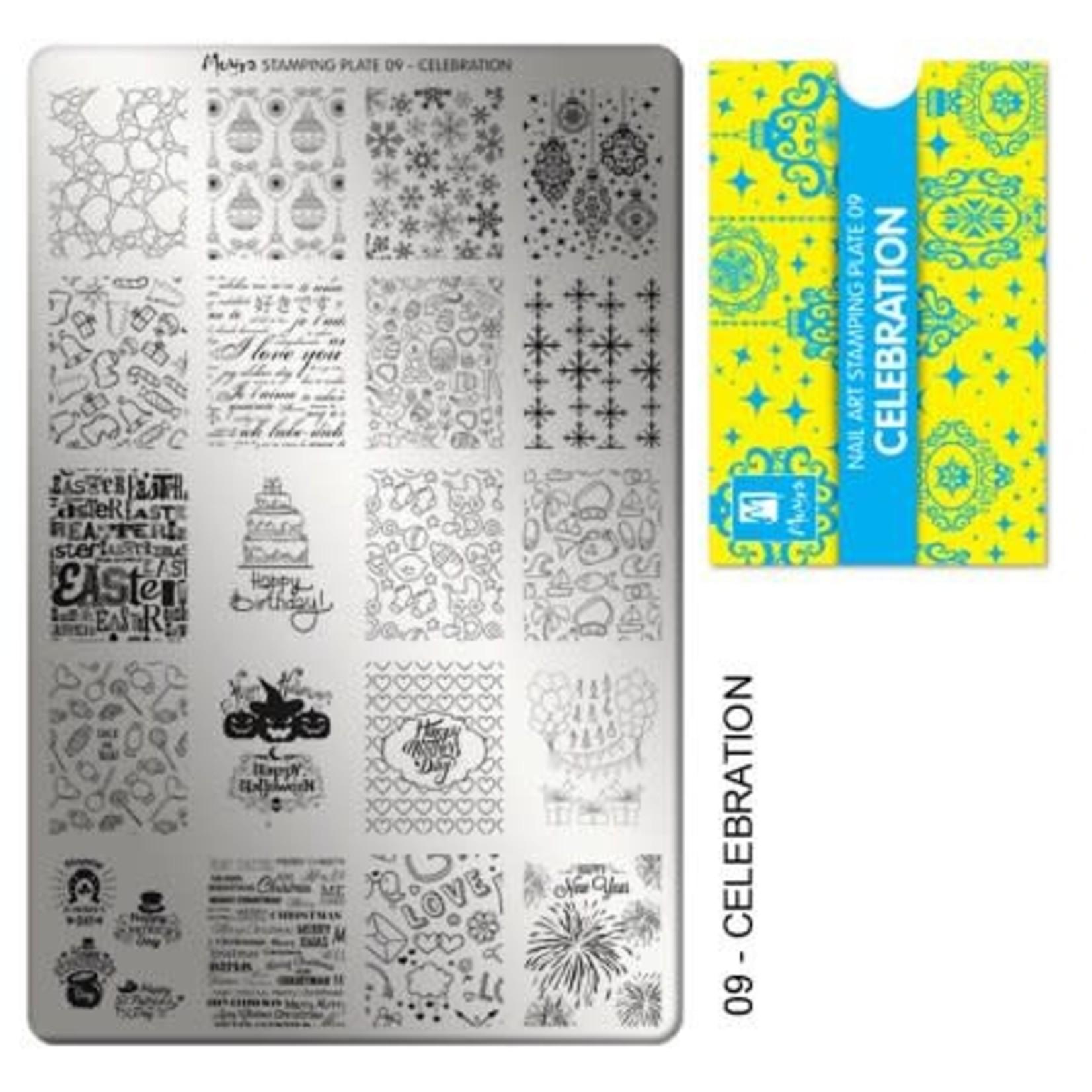 Moyra Moyra Stamping plate 09 Celebration