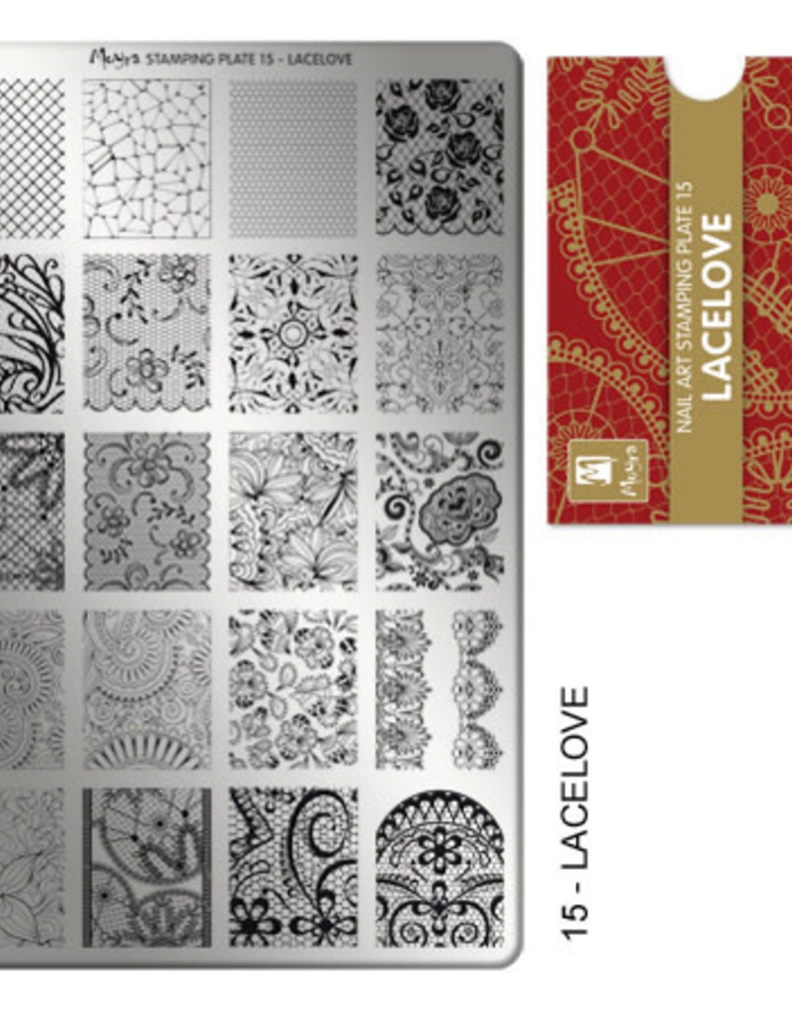 Moyra Moyra Stamping plate 15 Lacelove