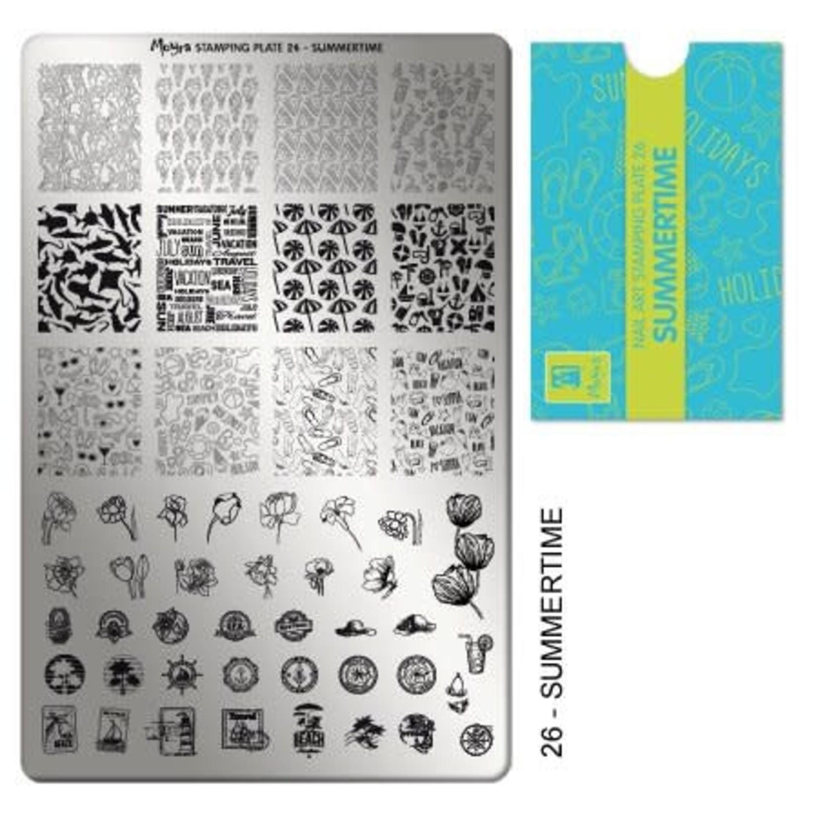 Moyra Moyra Stamping plate 26 Summertime