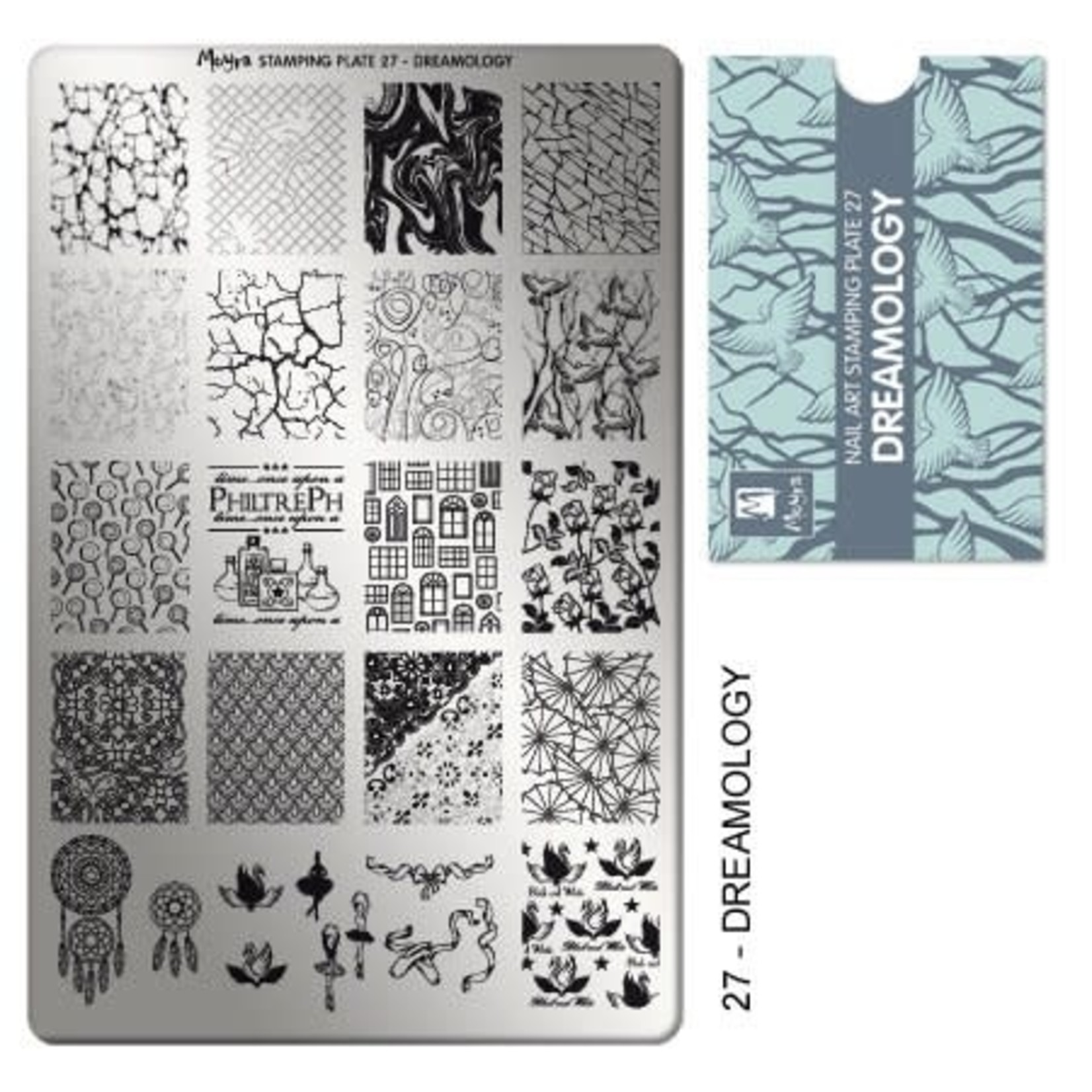 Moyra Moyra Stamping plate 27 Dreamology