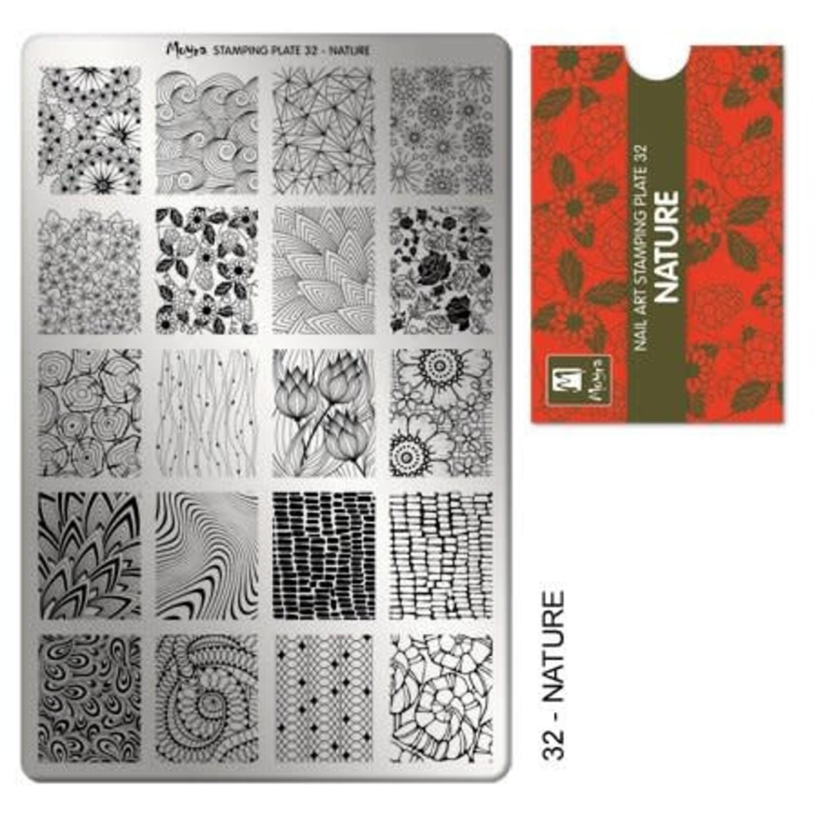 Moyra Moyra Stamping plate 32 Nature
