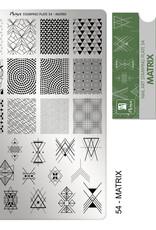 Moyra Moyra Stamping plate 54 Matrix
