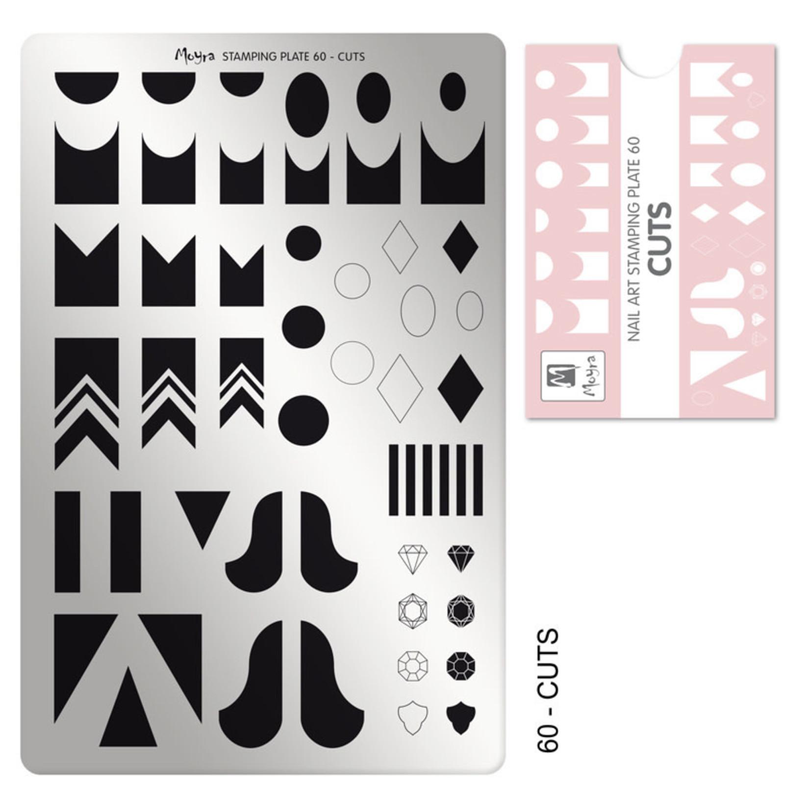 Moyra Moyra Stamping plate 60 Cuts