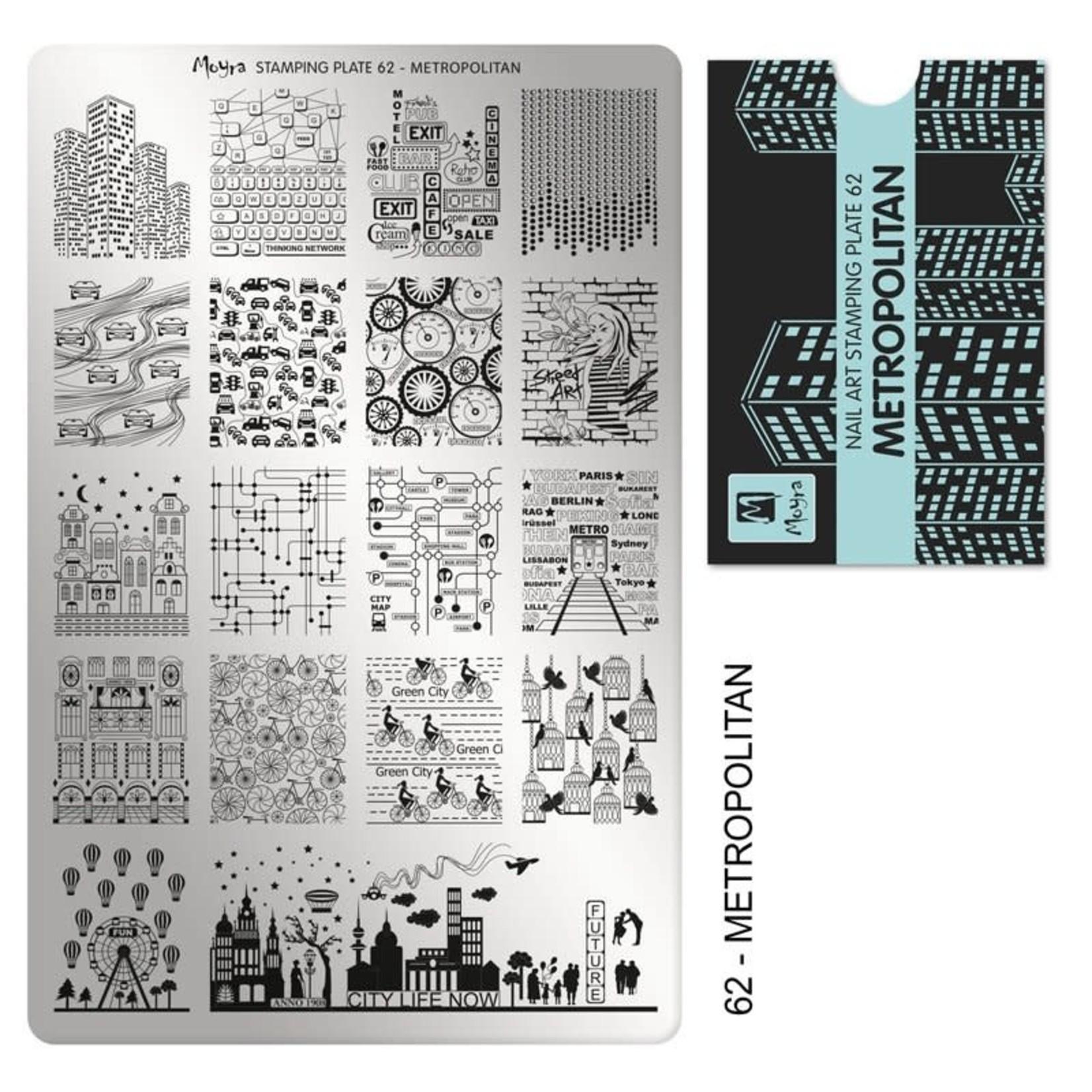 Moyra Moyra Stamping plate 62 Metropolitan