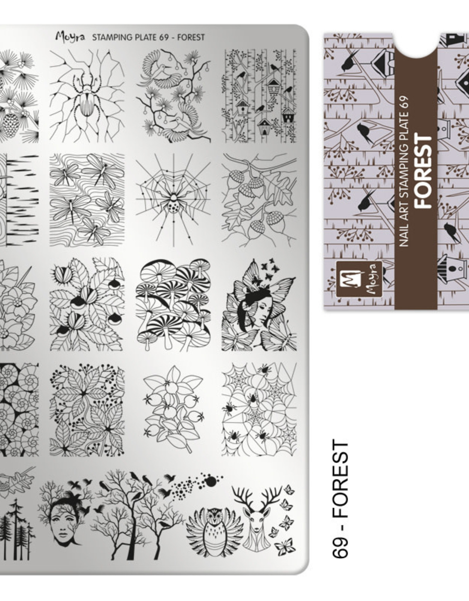 Moyra Moyra Stamping plate 69 Forest