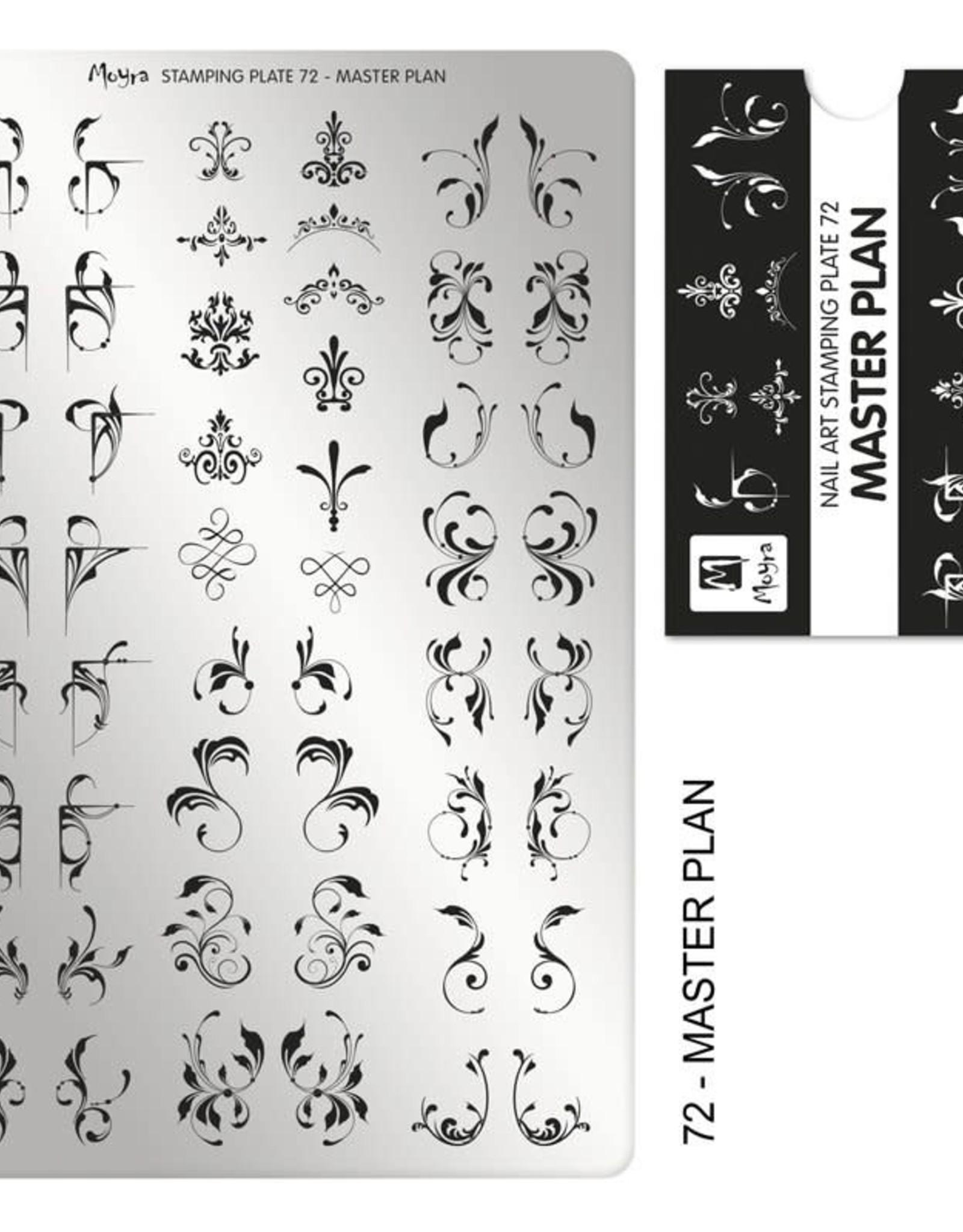 Moyra Moyra Stamping plate 72 Master plan
