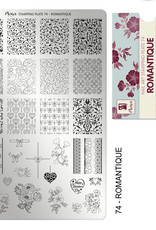 Moyra Moyra Stamping plate 74 Romantique