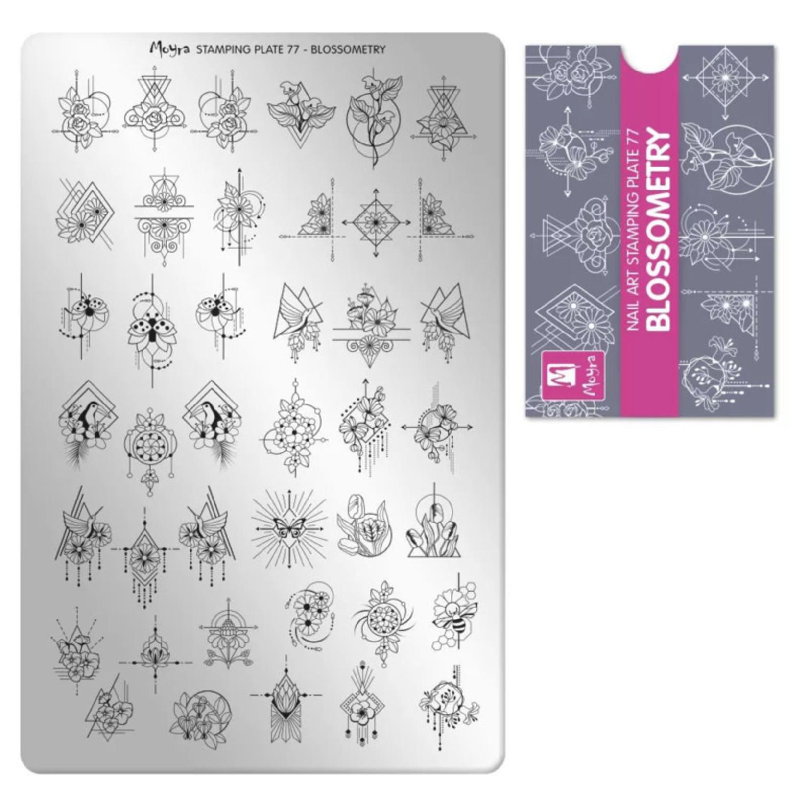 Moyra Moyra Stamping plate 77 Blossometry