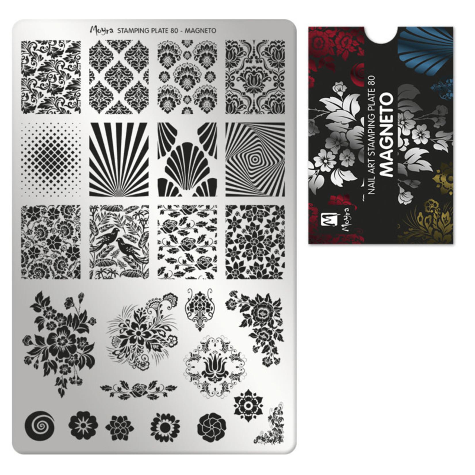 Moyra Moyra Stamping plate 80 Magneto