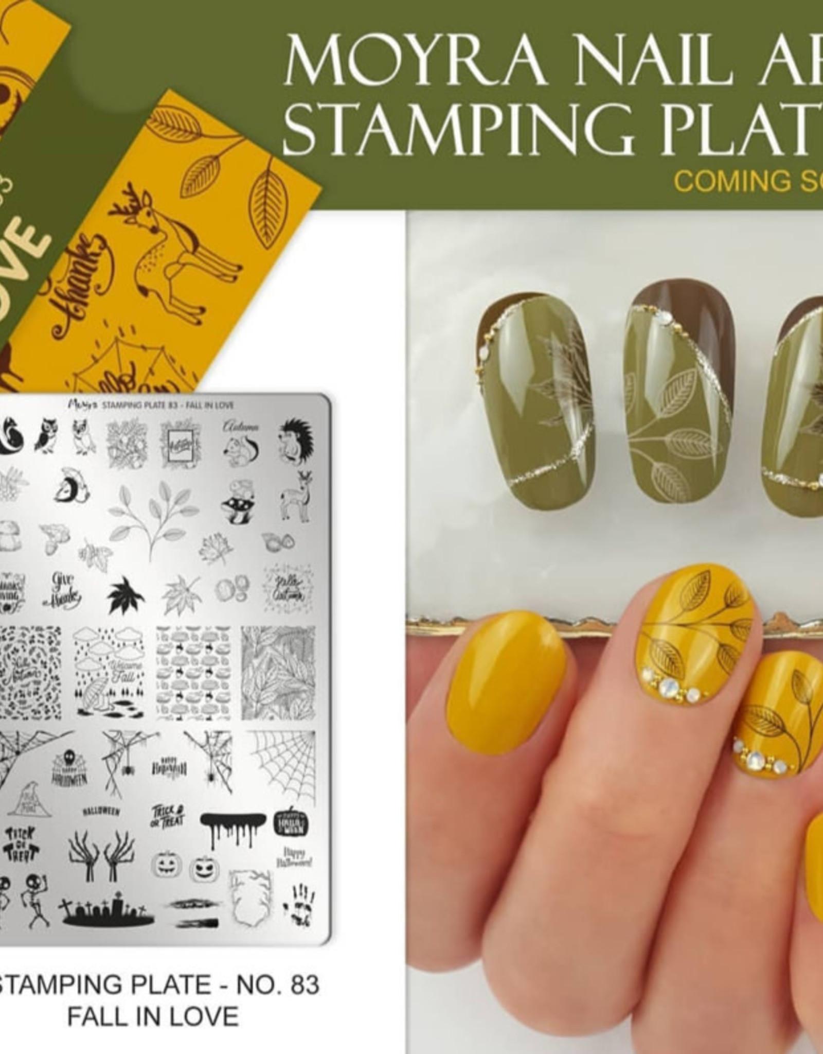 Moyra Moyra Stamping plate 83 Fall in love