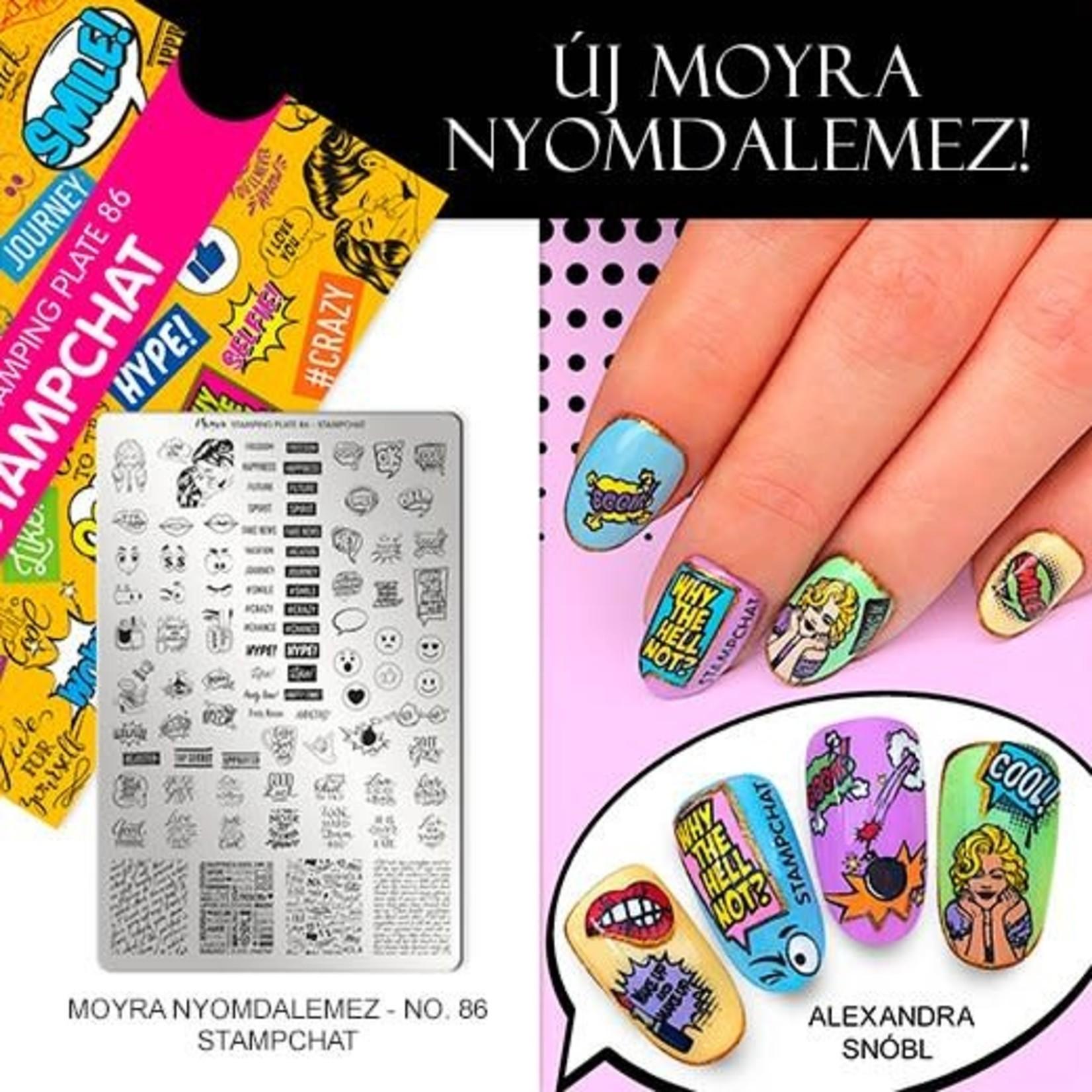 Moyra Moyra Stamping plate 86 Stampchat