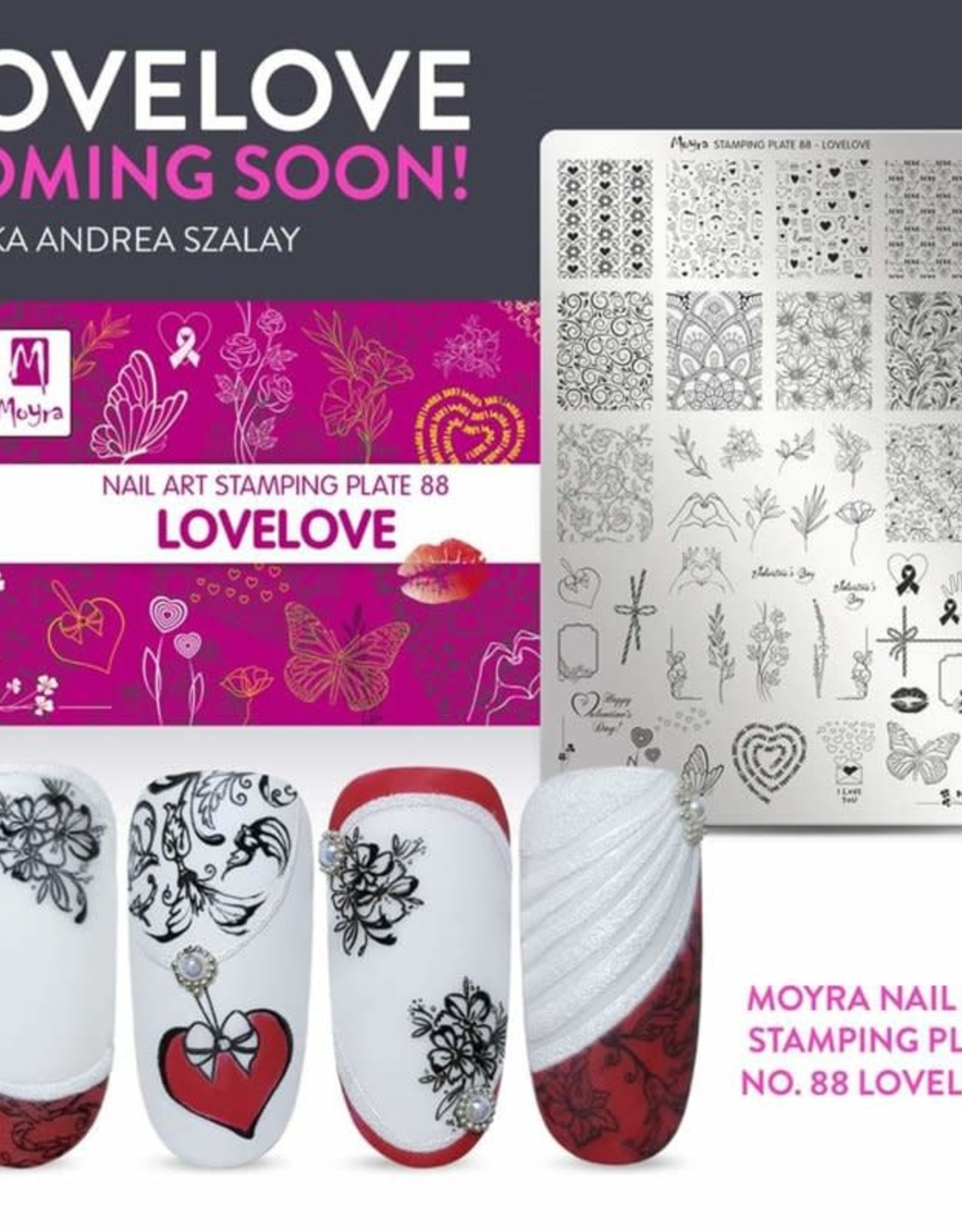 Moyra Moyra Stamping plate 88 Lovelove