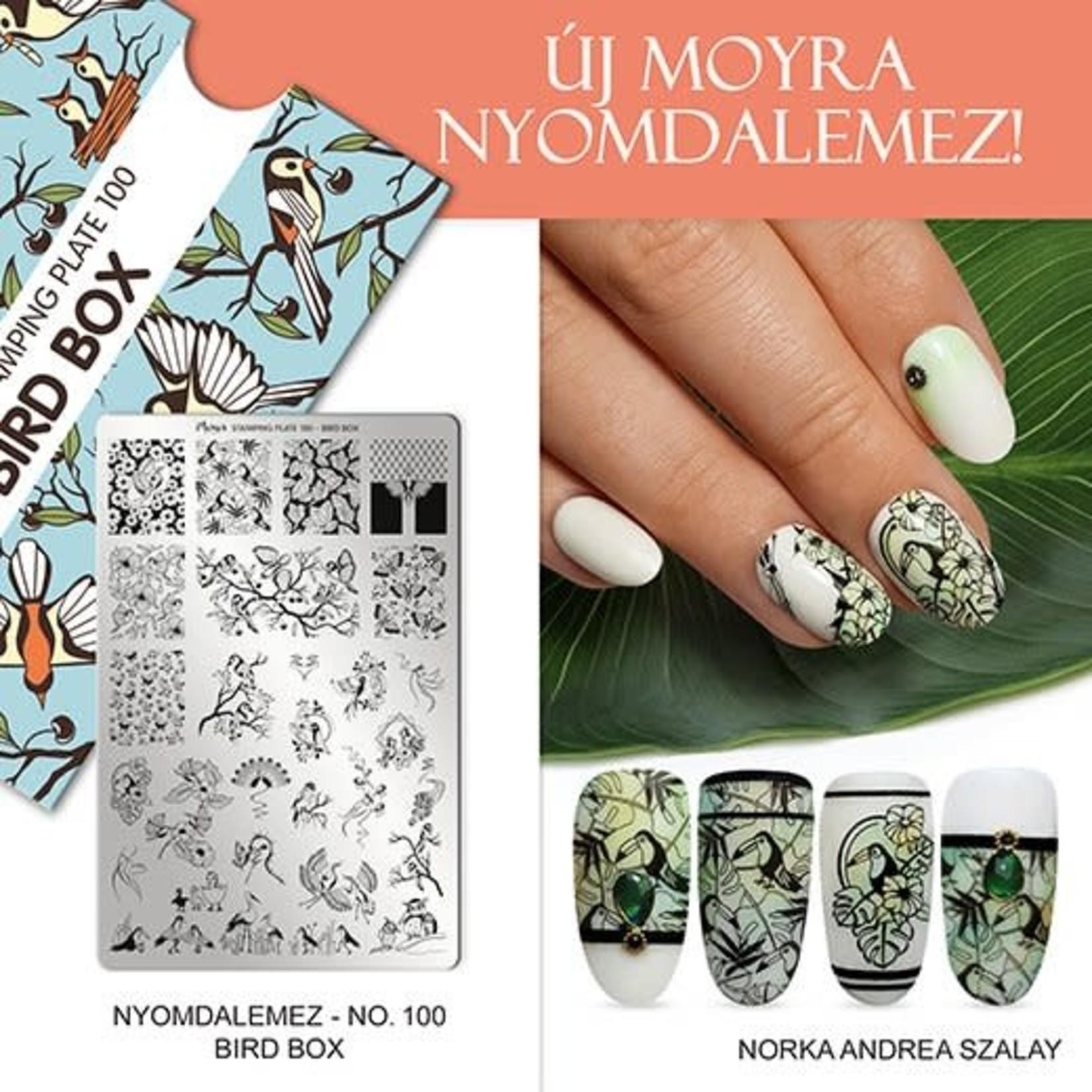 Moyra Moyra Stamping plate 100 bird box