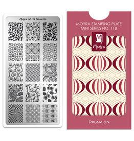 Moyra Moyra Mini Stamping plate 118 Dream On
