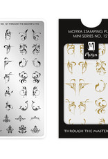 Moyra Moyra Mini Stamping plate 121 Through the master's eye