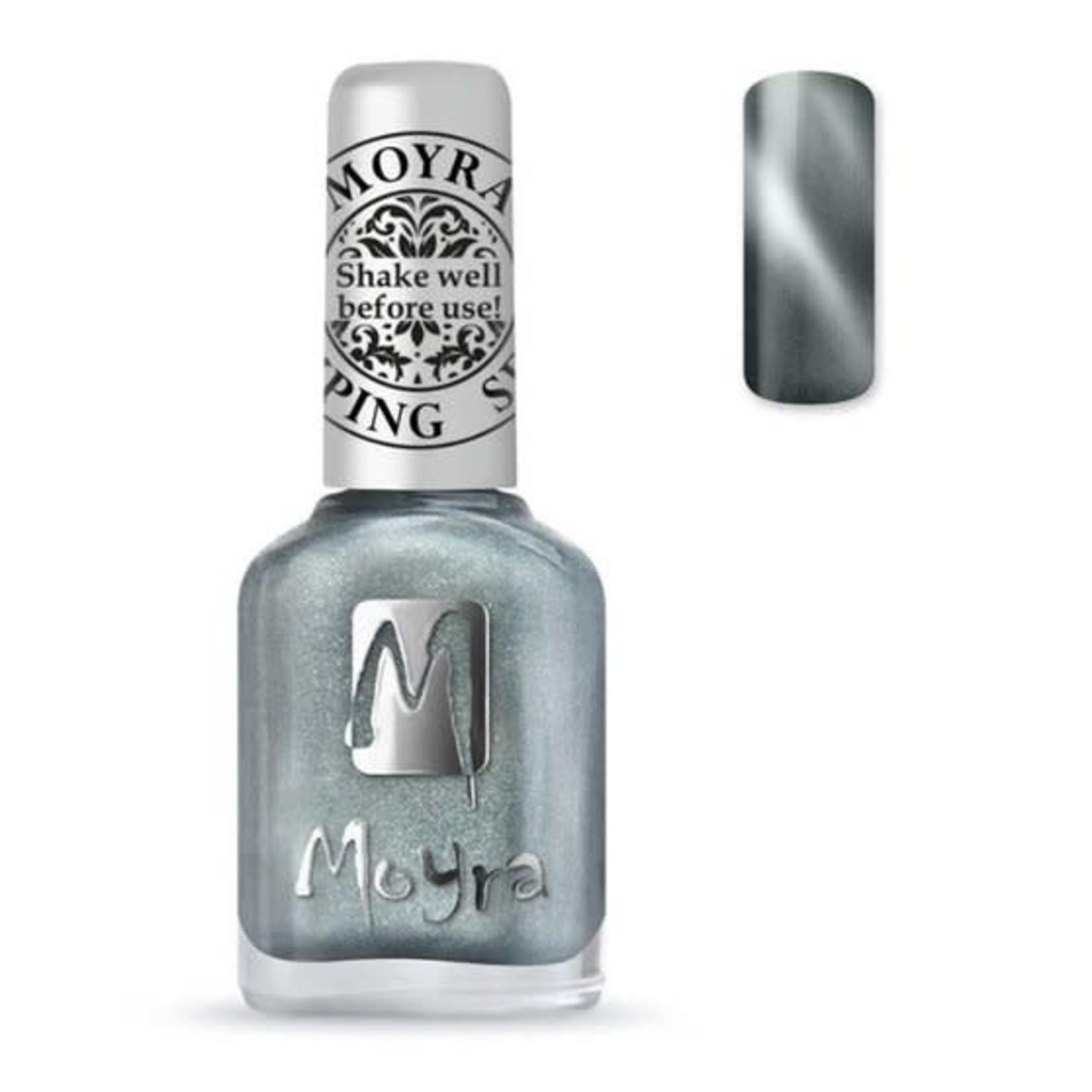 Moyra Moyra Stamping nail polish - Cat Eye SP30 Magnetic Silver