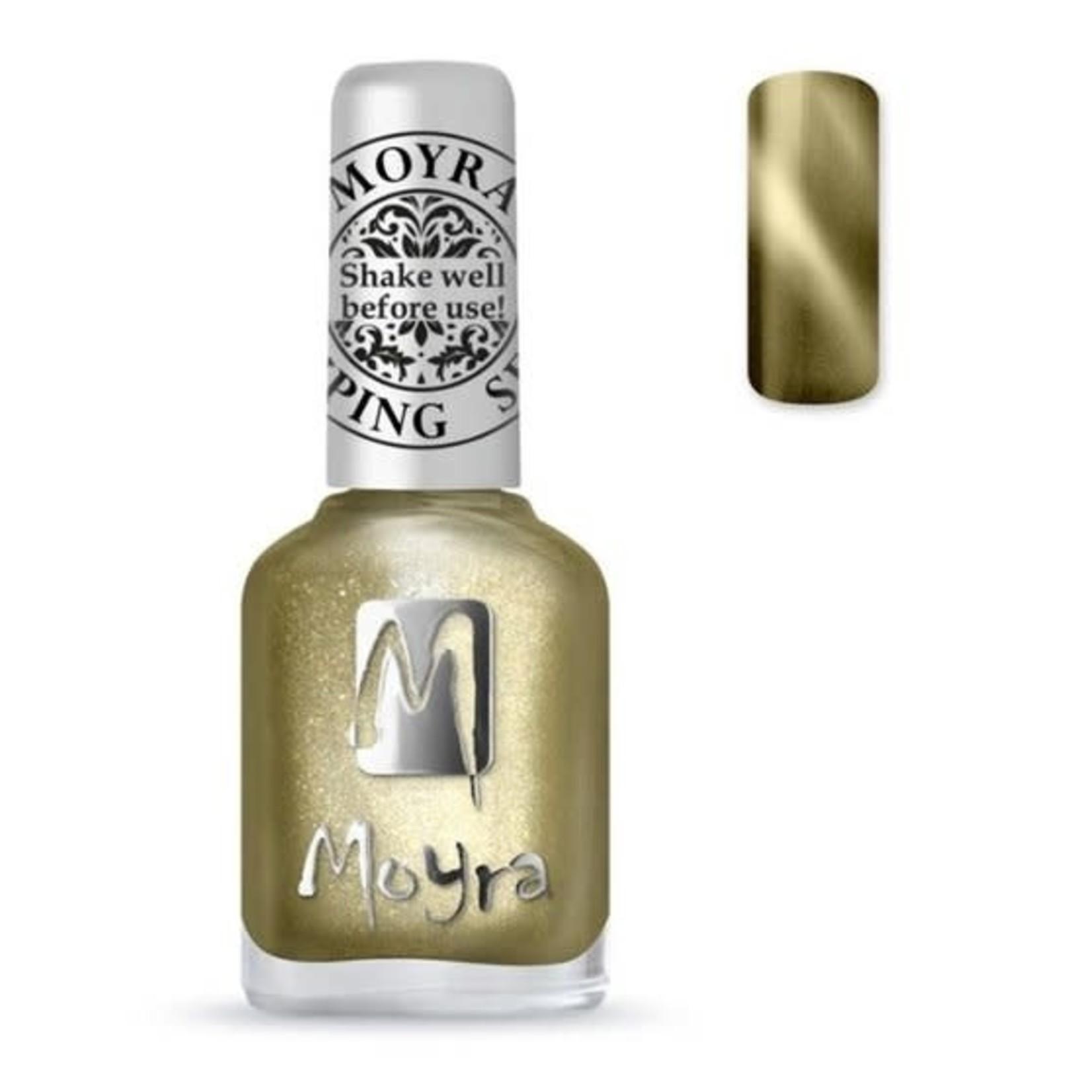 Moyra Moyra Stamping nail polish - Cat Eye SP31 Magnetic Gold