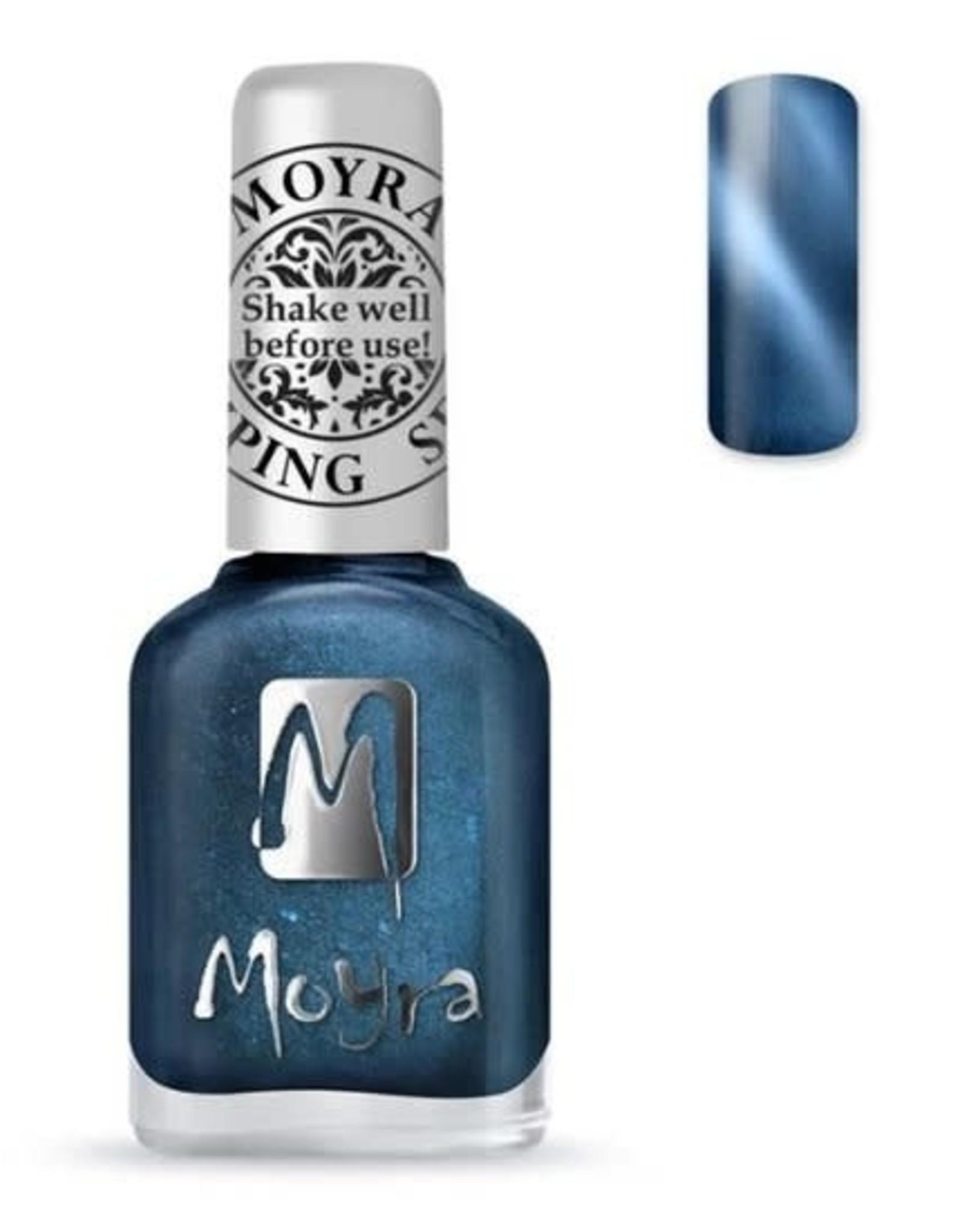 Moyra Moyra Stamping nail polish - Cat Eye SP33 Magnetic Blue