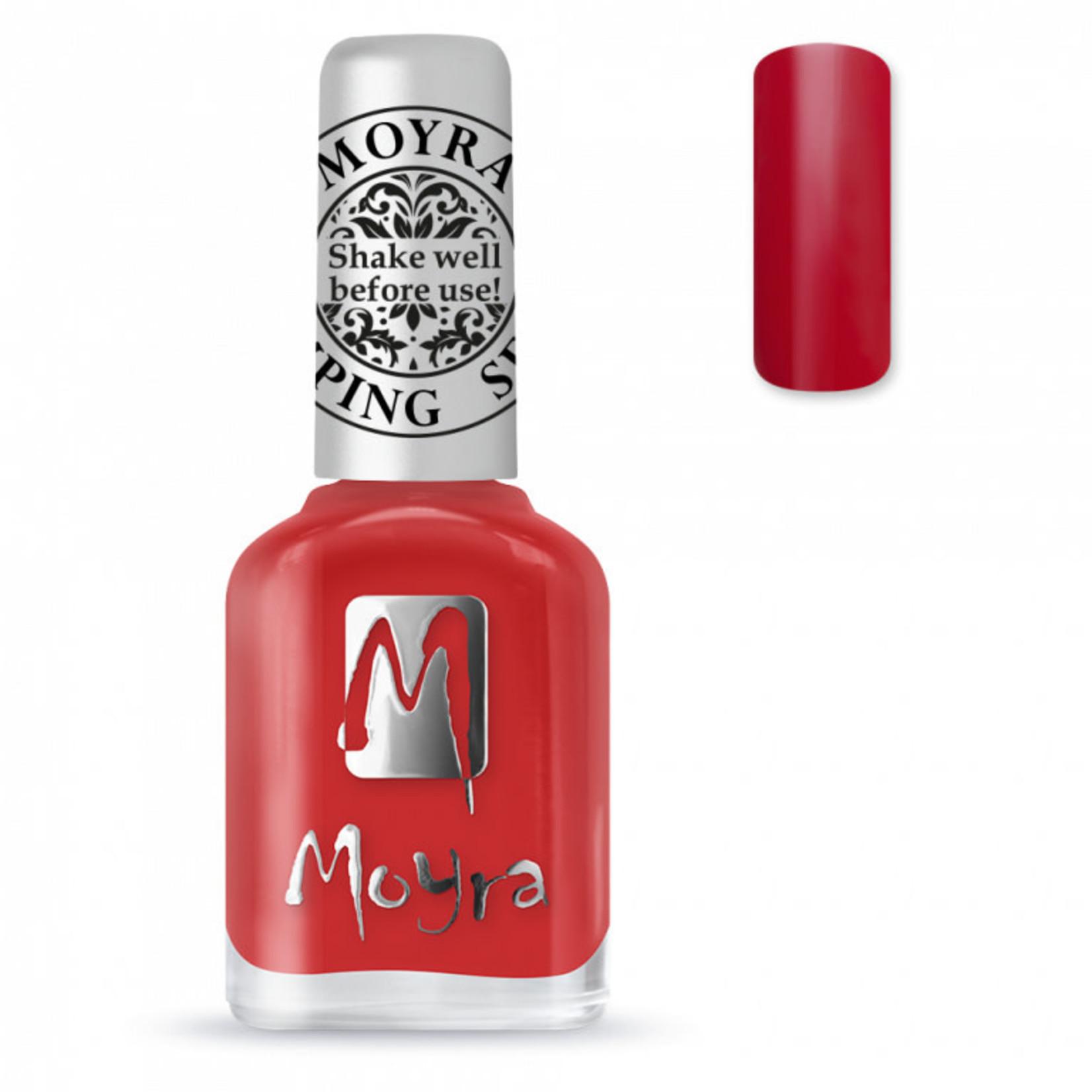 Moyra Moyra Stamping nail polish SP 02 Red