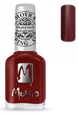 Moyra Moyra Stamping nail polish SP 03 Burgundy Red