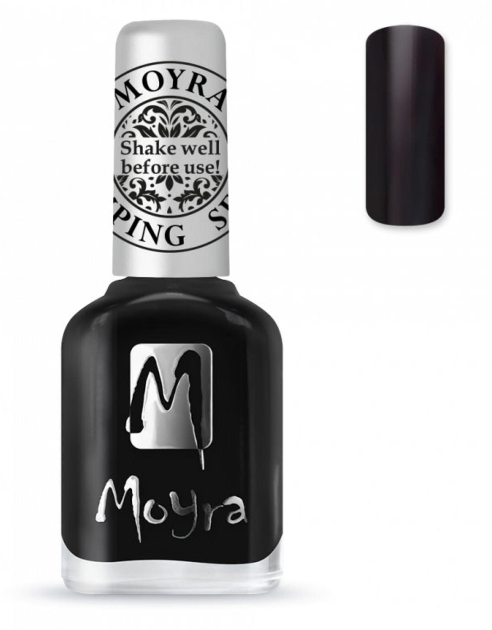 Moyra Moyra Stamping nail polish SP 06 Black