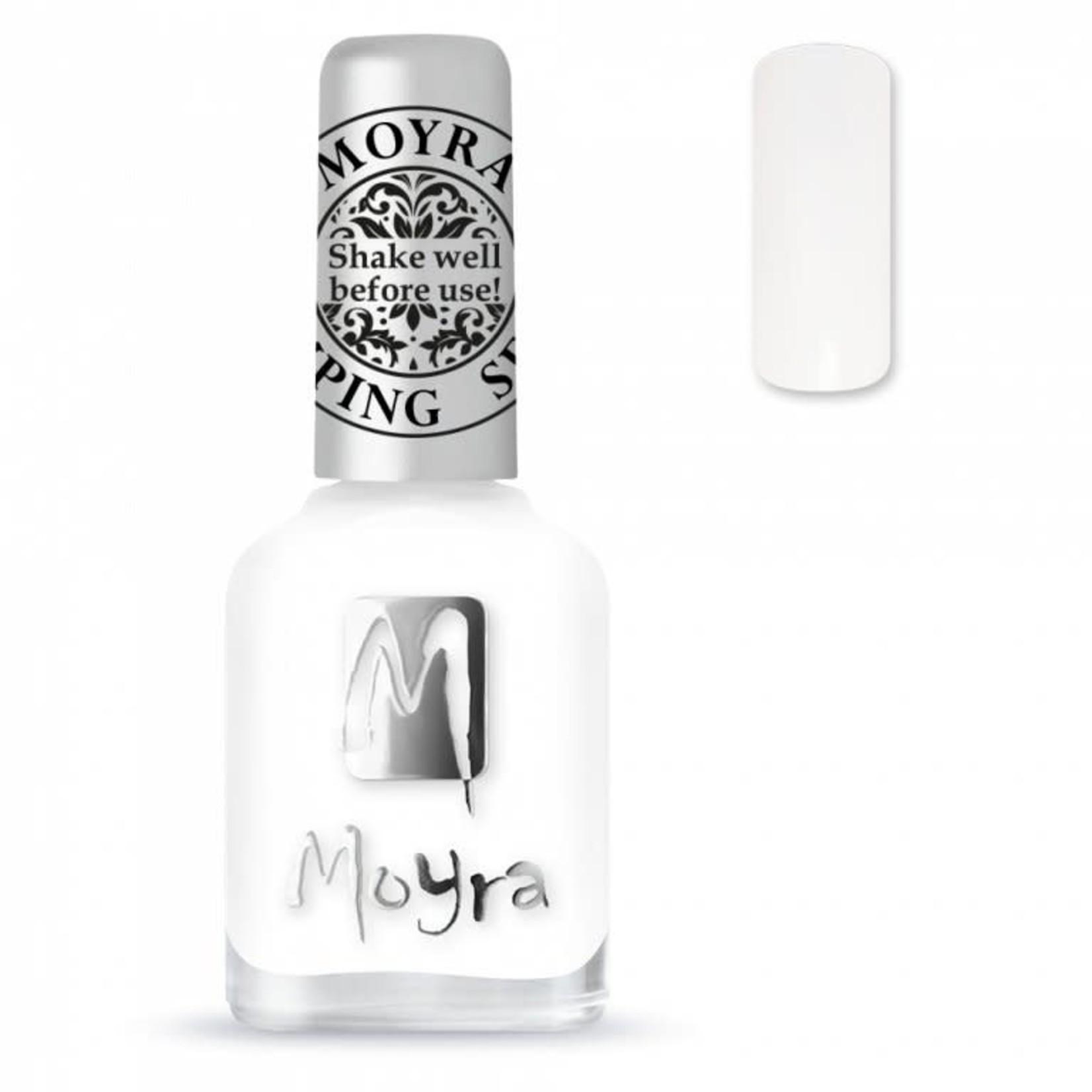 Moyra Moyra Stamping nail polish SP 07 White