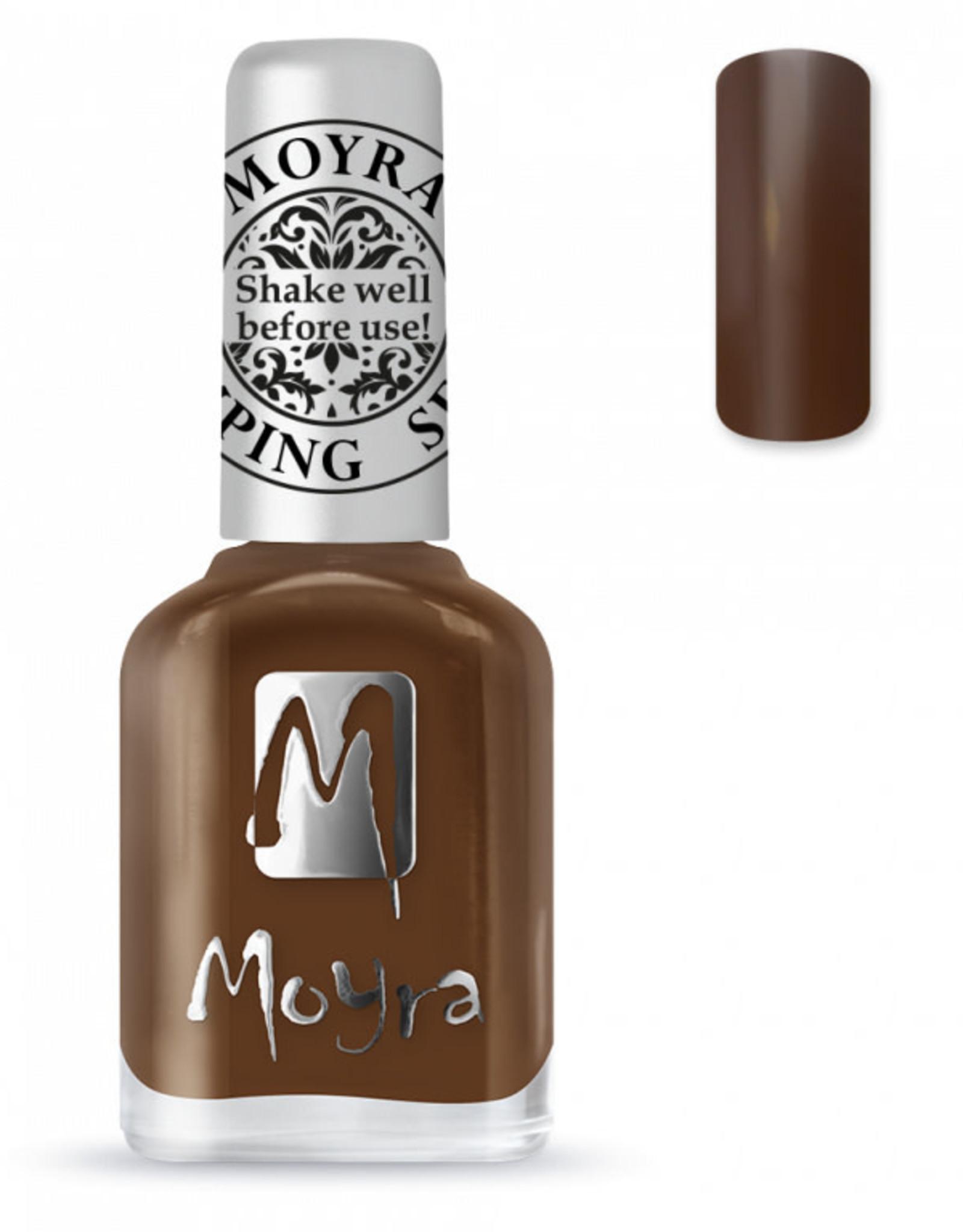 Moyra Moyra Stamping nail polish SP13 Dark brown