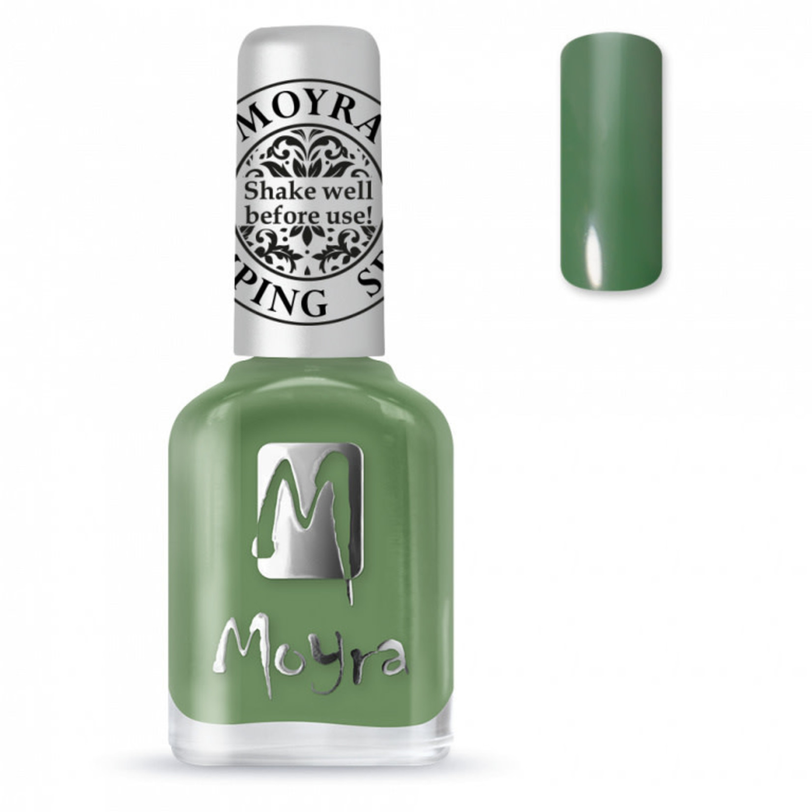 Moyra Moyra Stamping nail polish SP14 Dark green