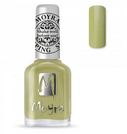 Moyra Moyra Stamping nail polish SP15 Light green