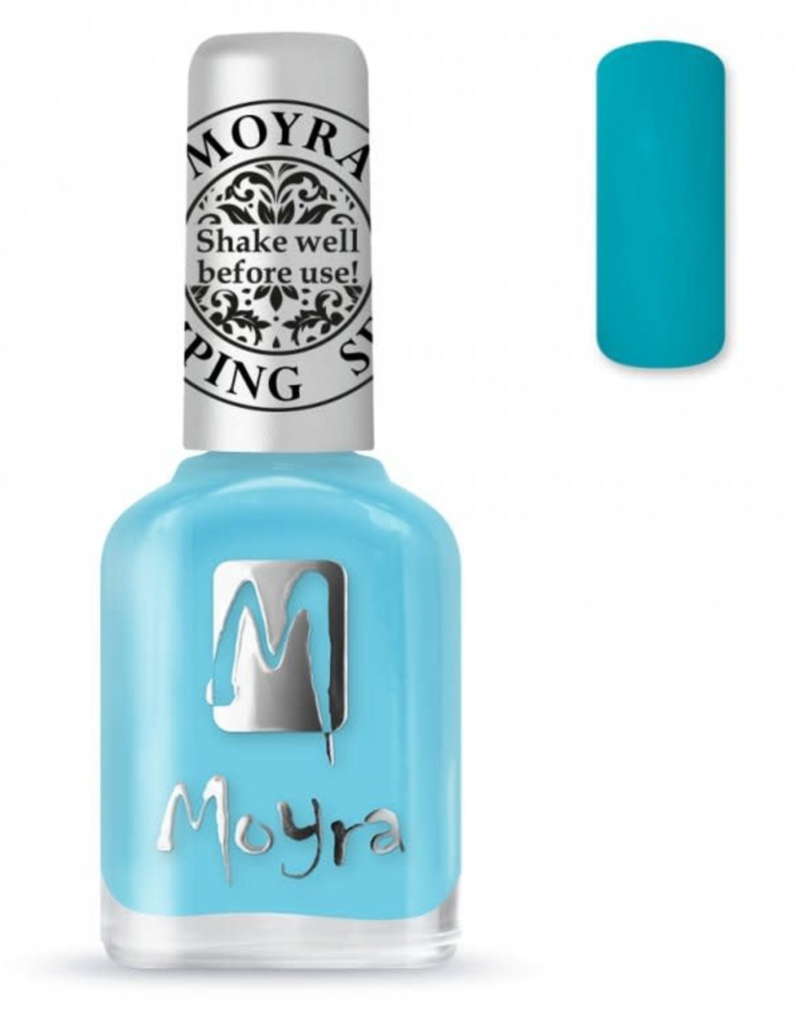 Moyra Moyra Stamping nail polish SP22 Turquoise