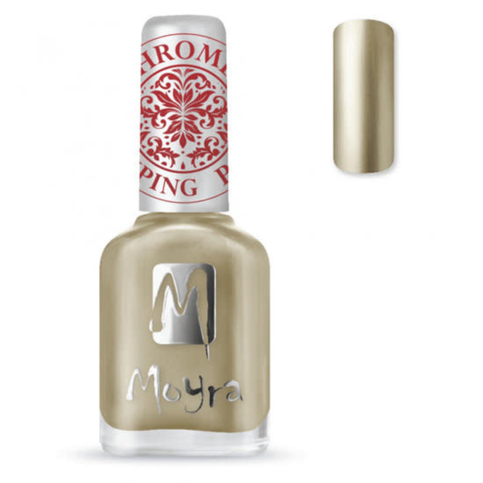 Moyra Moyra Stamping nail polish SP24 Chrome Gold