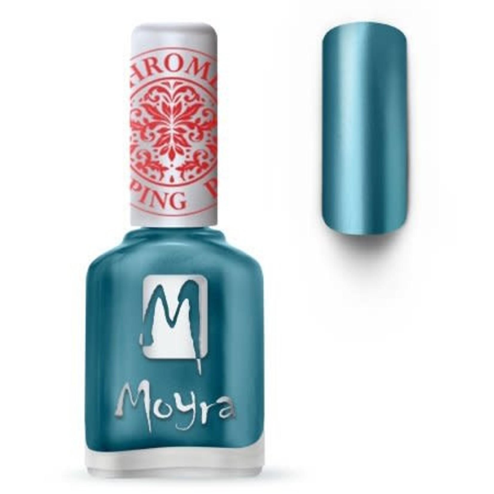 Moyra Moyra Stamping nail polish SP26 Chrome Blue