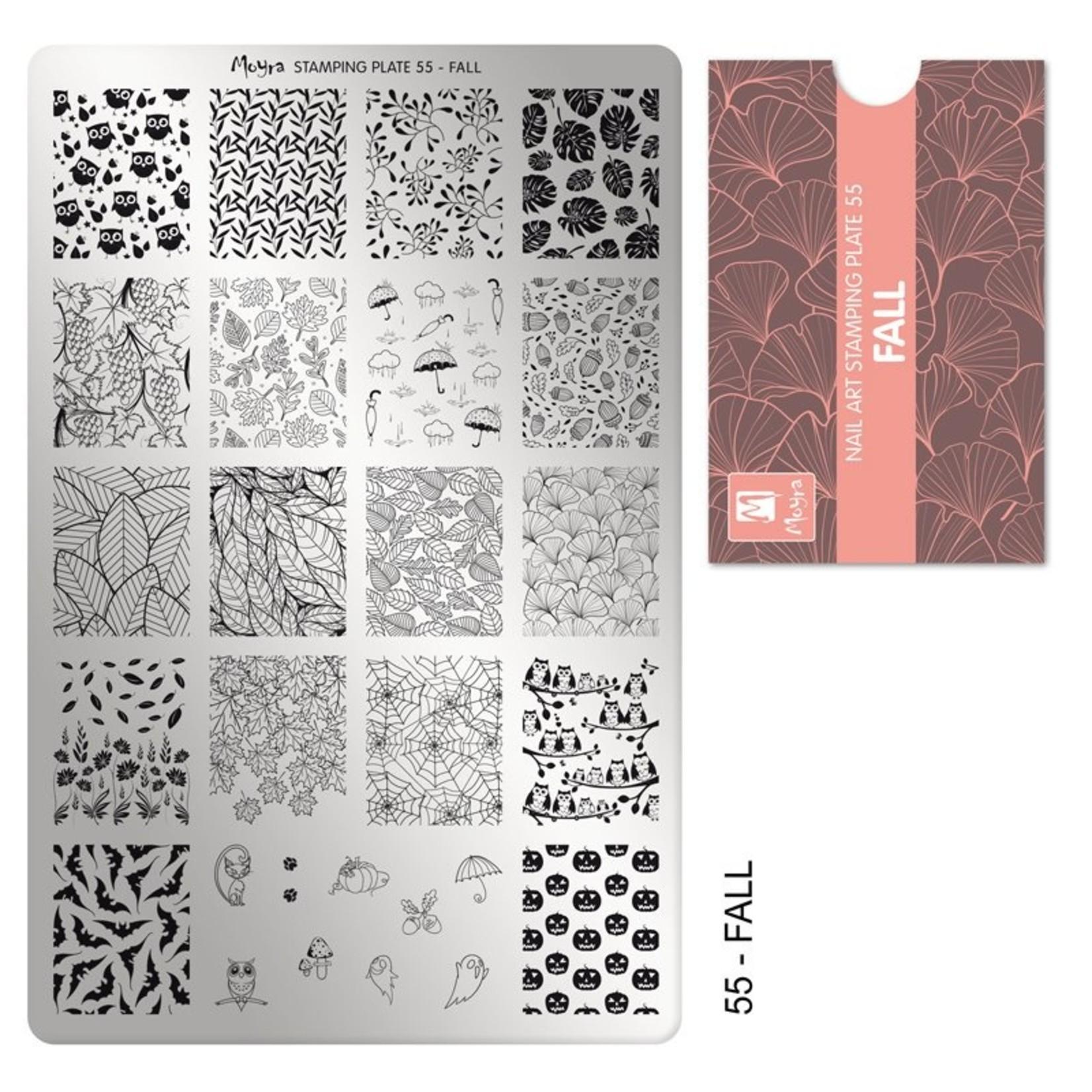 Moyra Moyra Stamping plate 55 Fall