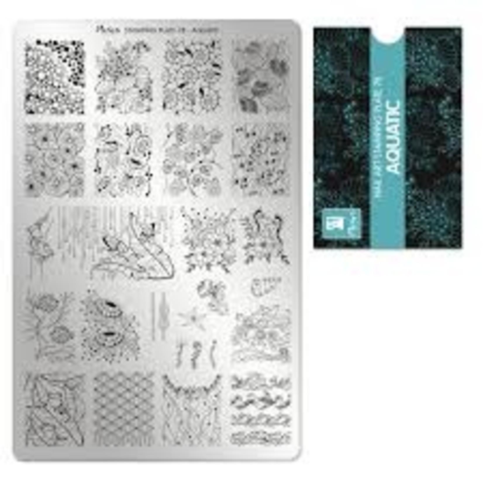 Moyra Moyra Stamping plate 78 Aquatic