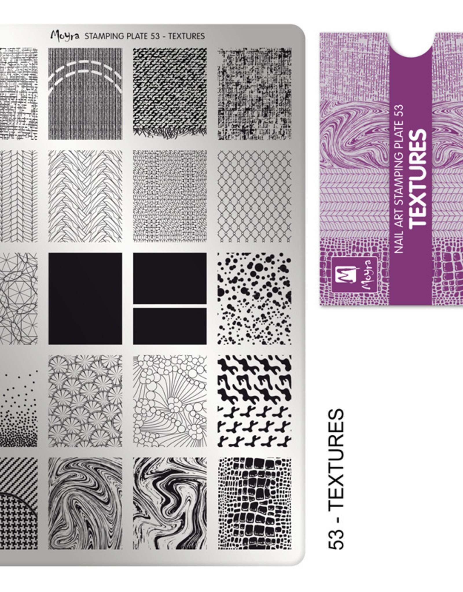 Moyra Moyra Stamping plate 53 Textures