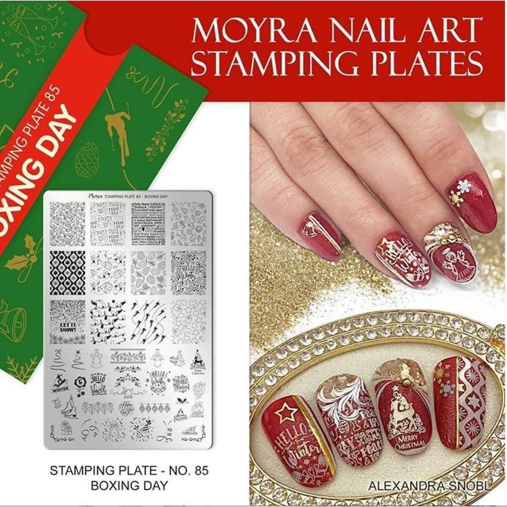 Moyra Moyra Stamping plate 85 Boxing day