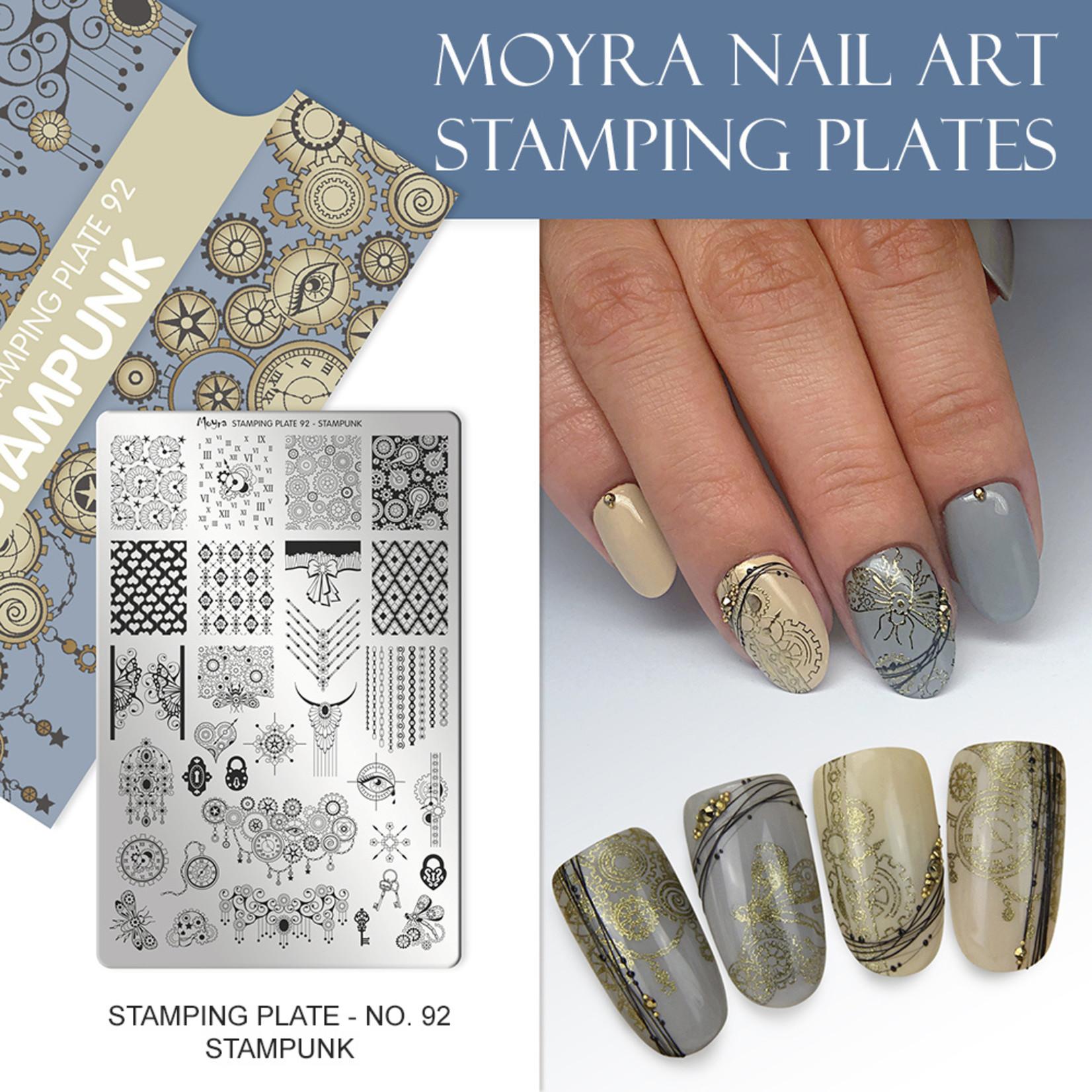 Moyra Moyra Stamping plate 92 Stampunk
