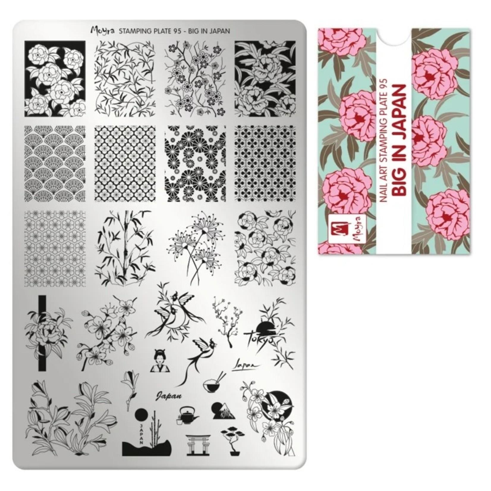 Moyra Moyra Stamping plate 95 Big in Japan