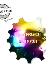 Urban Nails Easy French smile cutter 01